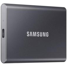Dysk zewnętrzny SSD Samsung Portable T7 1TB USB 3.2 Tytanowo Szary