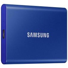 Dysk zewnętrzny SSD Samsung Portable T7 1TB USB 3.2 Niebieski