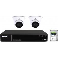 Zestaw monitoringu domu Kenik 2 kamery