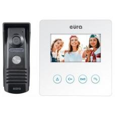 "Wideodomofon EURA VDP-52A3""ATIRA"" biały"