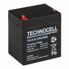 Akumulator Technocell 12V 4,5Ah