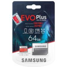Karta pamięci Samsung EVO+ Plus MB-MC64HA 64 GB + Adapter
