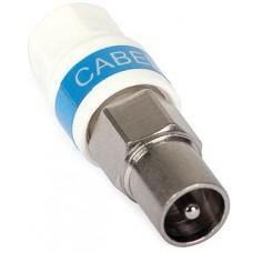 """Wtyk antenowy IEC Cabelcon na przewód RG-6/Triset-113 """"Self-Install"""""""