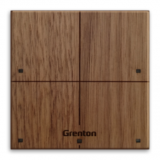 GRENTON - TOUCH PANEL 4B, Tf-bus, CUSTOM WOOD DARK (2.0)