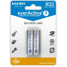 Akumulatorki everActive R03/AAA Ni-MH 800 mAh (box 2szt)