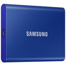 Dysk zewnętrzny SSD Samsung Portable T7 500GB USB 3.2 Niebieski