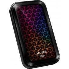 DYSK ZEWNĘTRZNY ADATA SSD SE770G 512G USB3.2-A/C RGB