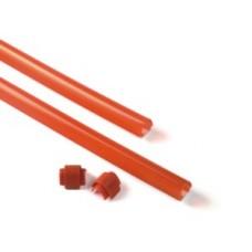 XBA13 - Listwa gumowa czerwona, ochronna, 9x1m - zestaw z zaslepkami - zabezpieczajaca do ramion XBA14, XBA15, XBA19