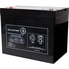 Akumulator AGM Powerbat 12V 84Ah