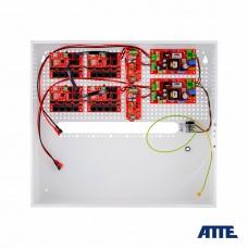 Zestaw buforowy do 17 kamer IP switch PoE 17P+1UP ATTE IPUPS-17-11-H
