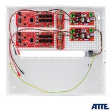 Zestaw buforowy do 16 kamer IP switch Po 16P+2G ATTE IPUPS-16-20-H