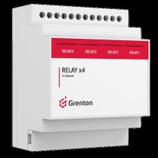 GRENTON - RELAYx4, DIN, TF-BusREL (1.0)