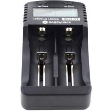 Szybka ładowarka do akumulatorów cylindrycznych Li-ion 18650 everActive LC-2100