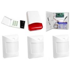 Alarm Satel CA-4 LED, 3xBINGO, syg. zew. PL-5010R