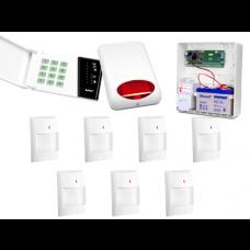Alarm Satel CA-6 LED, 7xAqua Plus, syg. zew. SPL-5010