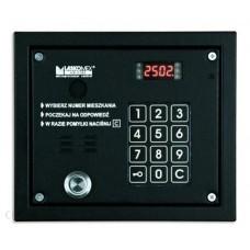 """Laskomex CP-2503TP czarna Panel audio z czytnikiem kluczy """"Dallas"""""""