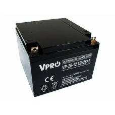 Akumulator AGM VPRO 12V 26Ah