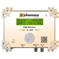 Modulator cyfrowy Johansson HDMI DVB-T DVB-C 8202