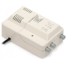 Wzmacniacz Alcad AL-200 VHF-UHF 1we/2wy szerokopasmowy