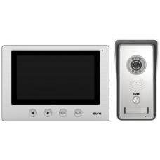 WIDEODOMOFON ''EURA'' VDP-33A3 ''LUNA'' ekran 7'', obsługa 2-ch wejść,pamięc obrazów, brelok zbliżeniowy
