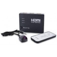 Switch Hdmi 3 wejścia SAVIO CL-28 + pilot