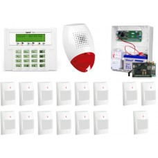 ALARM SATEL VERSA 15 LCD, 3xGREY+/12xGRAPHITE PET, SP-500, GPRS-A