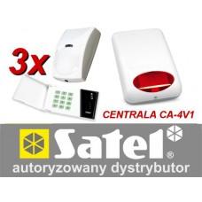 Alarm Satel CA-4 LED 3xBINGO, syg. zew. SPL-5010R