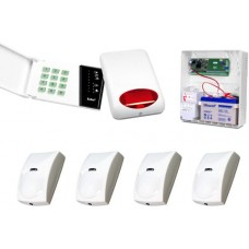 Alarm Satel CA-6 LED, 4xBINGO, syg. zew. SPL-5010