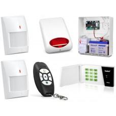 Zestaw alarmowy Satel Micra, LED, 2 Piloty, 2 Czujki bezprzewodowe, Sygnalizator zewnętrzny