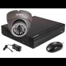 Zestaw startowy AHD, 1x Kamera HD/IR20, Rejestrator 4ch