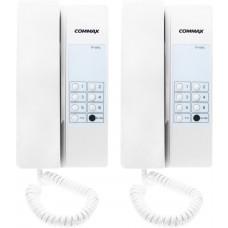 Zestaw interkomowy COMMAX 2xTP-6RC/DR-DW3/RF-1A