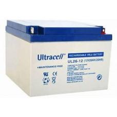 "Akumulator AGM ULTRACELL UL 12V 26AH ""żelowy"""