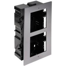 Ramka z puszką do montażu podtynkowego 2-modułowa HIKVISION DS-KD-ACF2(Plastic)