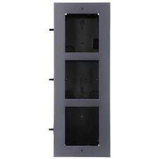 Ramka z puszką do montażu podtynk. 3-modułowa HIKVISION DS-KD-ACF3(Plastic)