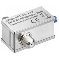 Tłumik kątowy regulowany SAT/DVB-T 0-20dB 5-2400Mhz