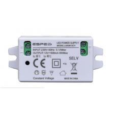 ZASILACZ DO OŚWIETLENIA LED 12V 0.5A 6W LNA0612CV ESPE IP20