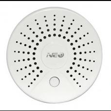 Czujnik dymu temperatury NEO WiFi TUYA Android iOS