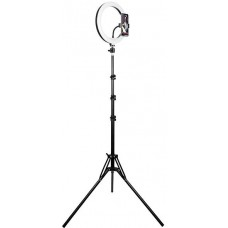 Lampa pierścieniowa RING 30cm TRACER ze statywem 185cm