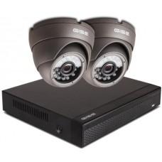 Zestaw AHD, 2x Kamera HD/IR20, Rejestrator 4ch