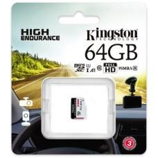 Karta pamięci Kingston High-Endurance microSD 64GB UHS-I U1 24/7