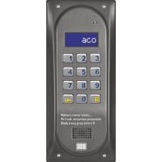 ACO CDNP6ACC BR CENTRALA DOMOFONOWA grzałka LCD. RFID MASTER