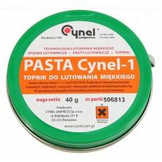 PASTA LUTOWNICZA CYNEL-1 40G DO LUTOWANIA MIĘKKIEGO