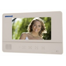 Monitor wideodomofonu biały ORNO OR-VID-YT-1007MV/W
