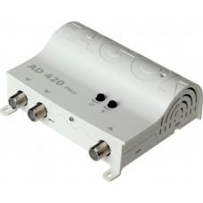 WZMACNIACZ ANTENOWY FAGOR AD420 PLUS 1WEJ.+2WYJ Filtr LTE