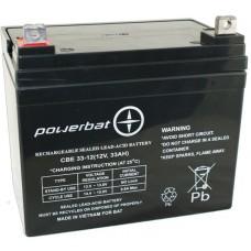 Akumulator PowerBat AGM 12V 33Ah