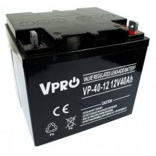 Akumulator AGM VPRO 12V 40Ah