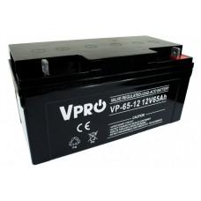 Akumulator AGM VPRO 12V 65Ah