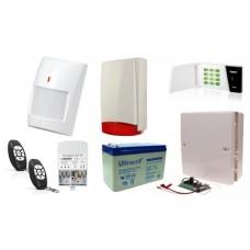 Alarm Satel Micra LED, 2xMPT-300, 6xMPD-300 PET, syg. zew. SPL-5010 R