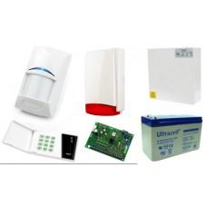 Alarm Satel CA-6 LED, 5xBPR2-W12, syg. zew. Beewell