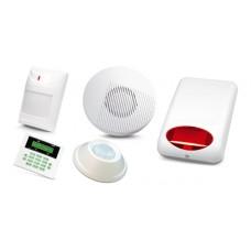 Alarm Satel CA-5 LCD, 2xAqua Plus, 2xAqua Ring, syg. wew. SP-100, zew. SPL-5010